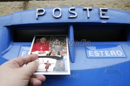postcard from rome rome lazio italy