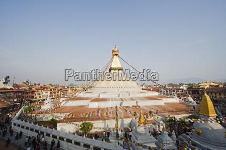 boudha stupa chorten chempo boudhanath kathmandu