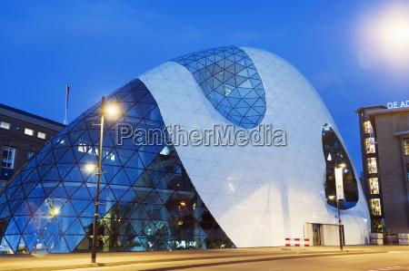 modern architecture in 18 septemberplein designed