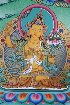manjushri divinity of knowledge kopan monastery