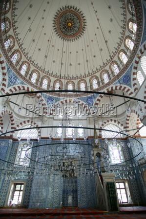 rustem pasha mosque istanbul turkey europe