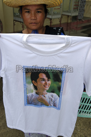 t shirt decorated with the portrait