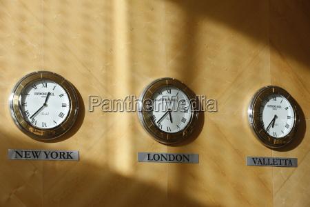 hotel clocks valletta malta europe