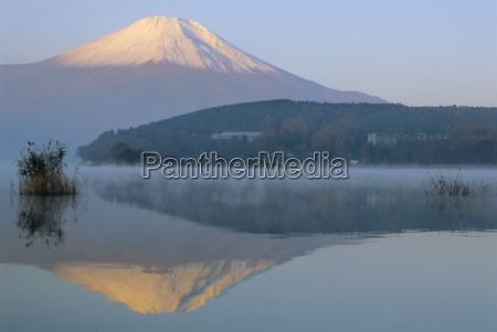 mt fuji and yamanaka ko lake