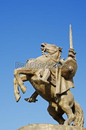 statue of svatopluk ruler of moravia