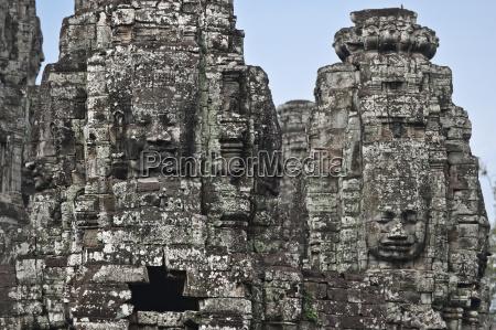 the bayon angkor thom angkor unesco
