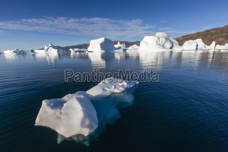 grounded icebergs rode o red island
