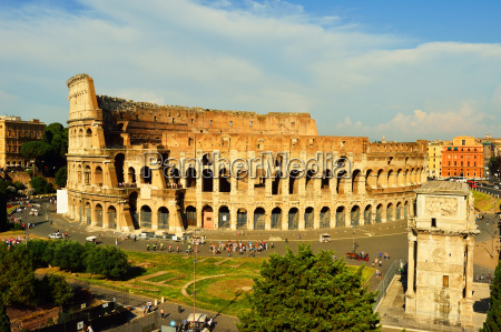 colosseum and arch of constantine unesco