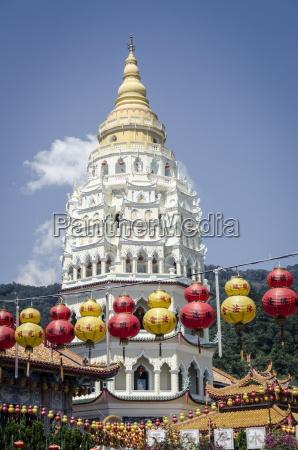 kek lok si temple during chinese
