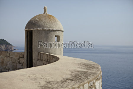 a lookout post fortification with a