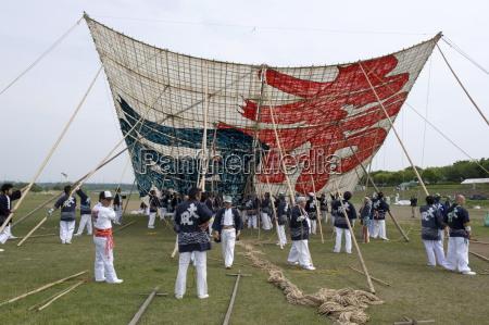 sagami kite festival which boasts the