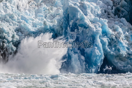 south sawyer glacier calving tracy arm