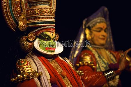 spectacle of kutiyattam indian theater in