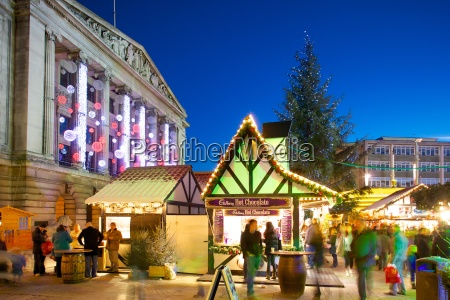 council house and christmas market market