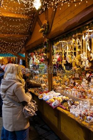 christmas market stall dortmund north rhine
