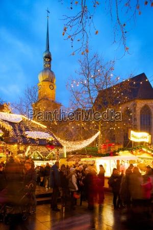 st reinoldi church and christmas market