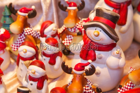 christmas ornaments in christmas market munster