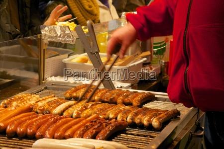 hot dog stall christmas market munster