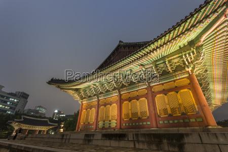 junghwa jeon throne hall deoksugung palace