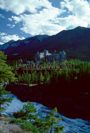 banff springs hotel banff in the