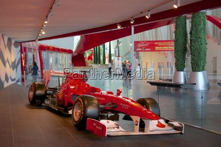formula 1 racing car ferrari world