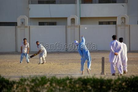 local cricket match al ain abu