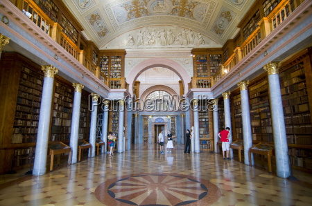 world famous library in the millenary