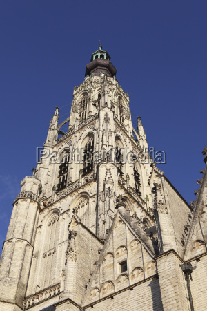 spire of the late gothic grote