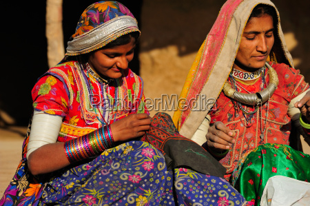 mir tribal women with traditional attire