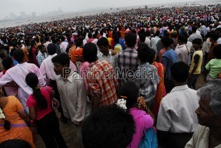 people come together in large numbers