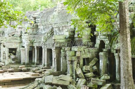 ruins of preah khan temple unesco