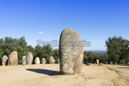 the almendres stone circle one of