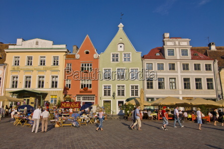 raekoja plats town hall square old