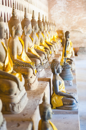 buddhas at wat si saket the