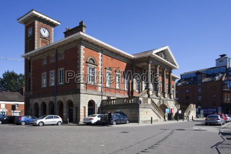 the old custom house at ipswich