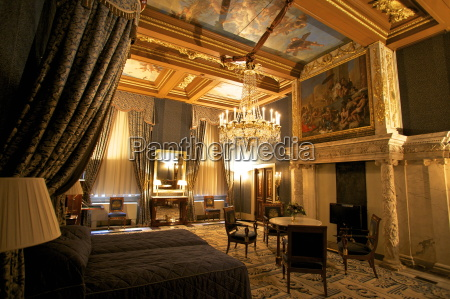 bedroom in royal palace amsterdam netherlands