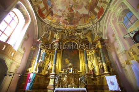 interior of st michaels city church