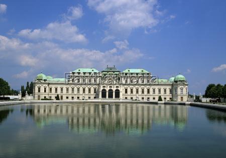 belvedere palace unesco world heritage site