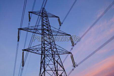 electricity pylon england united kingdom