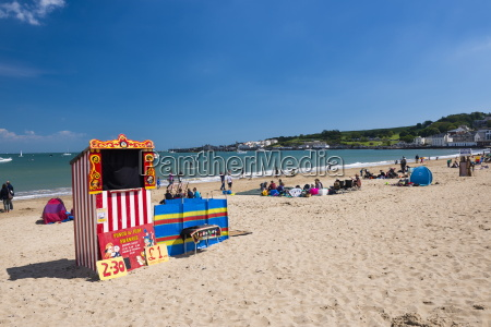punch and judy show on swanage