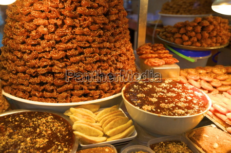 moroccan pastries fez morocco north africa