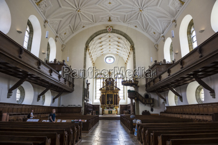 interior of the church of the