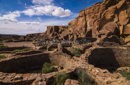 chaco ruins in the chaco culture