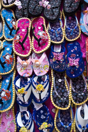 shoes for sale in a bangkok