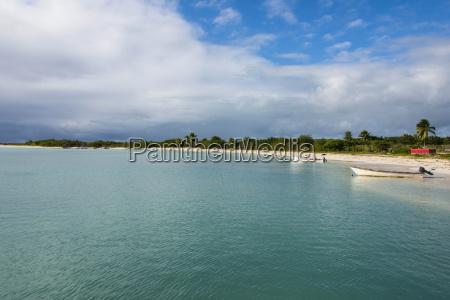 white sand in the gravenor bay