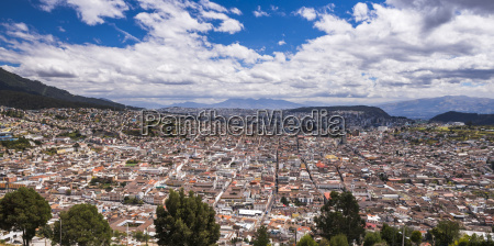 city of quito with the historic