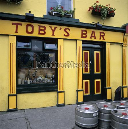 typical irish pub westport county mayo