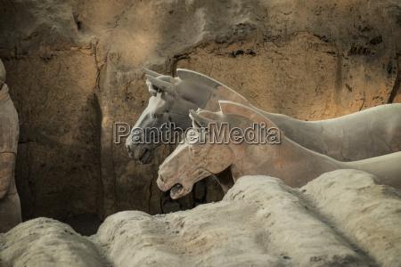 horses terracotta army unesco world heritage