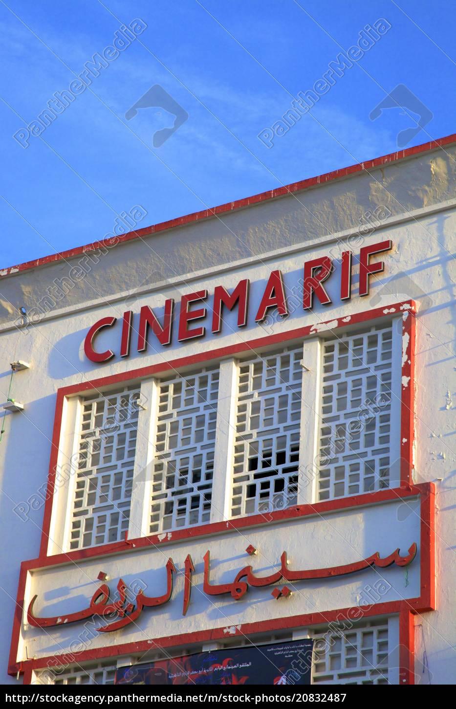 cinema, rif, , grand, socco, , tangier, , morocco, - 20832487