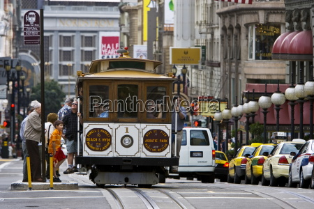 san francisco cable car stops to